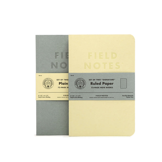Field Notes, Signature Series Memo Books - Set of 2 - noteworthy