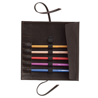 Sonnenleder Leather Pencil Roll - noteworthy