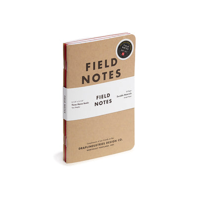 Field Notes, Tenth Anniversary Memo Books - Set of 3 - noteworthy