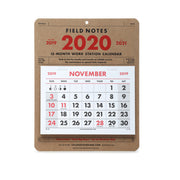 Field Notes Workstation Calendar 2020 - noteworthy