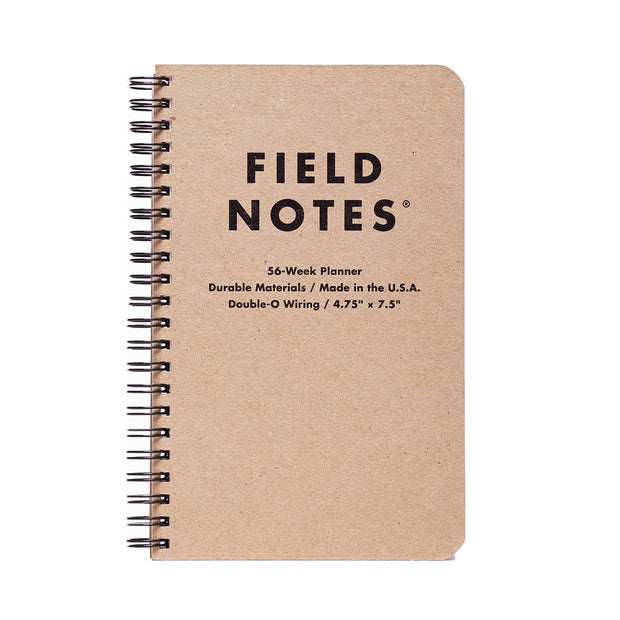Field Notes 56- Weekly Planner - noteworthy