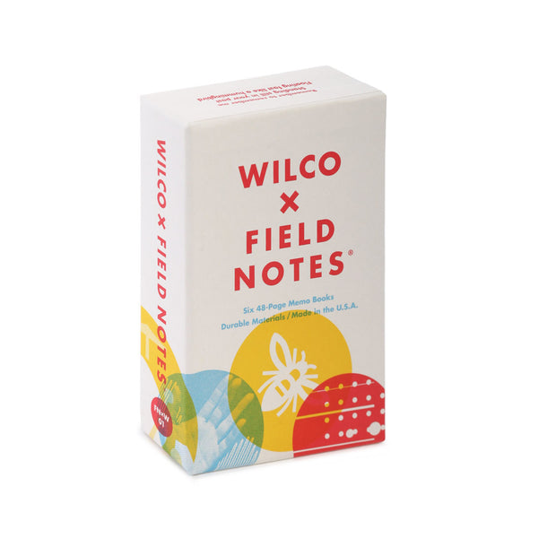 Wilco x Field Notes, Box Set of  6 Memo Books - noteworthy
