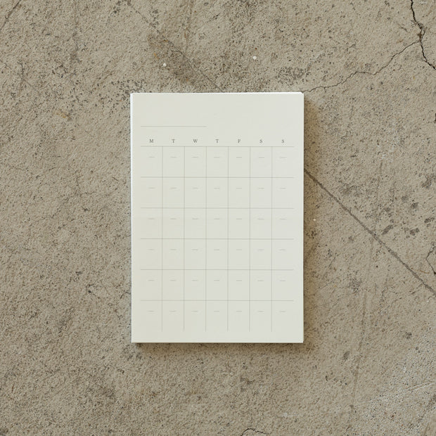 Midori MD Blank Free Diary Sticker - noteworthy
