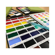 Kuretake Gansai Tambi Watercolor Set, 36 Colors - noteworthy