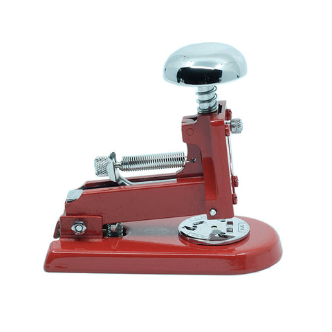 El Casco Desk Stapler, Red - noteworthy