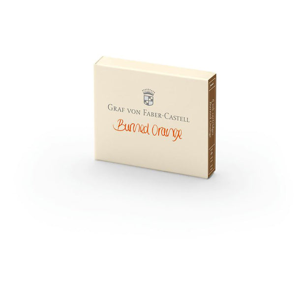 Graf von Faber-Castell Burned Orange Ink Cartridges - Pack of 6