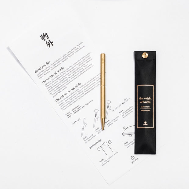 ystudio Classic Ballpoint Pen (Slim) - noteworthy