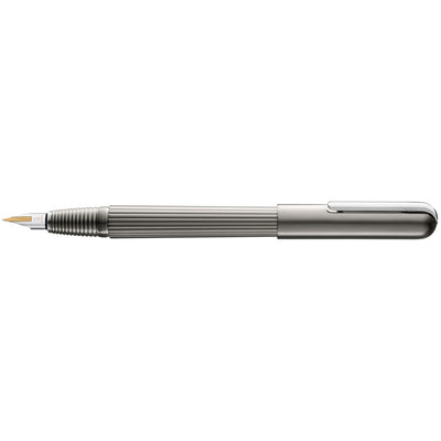 LAMY Imporium Titanium/Platinum  Fountain Pen - B (Broad)