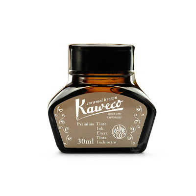 Kaweco Caramel Brown Ink Bottle - 30ml