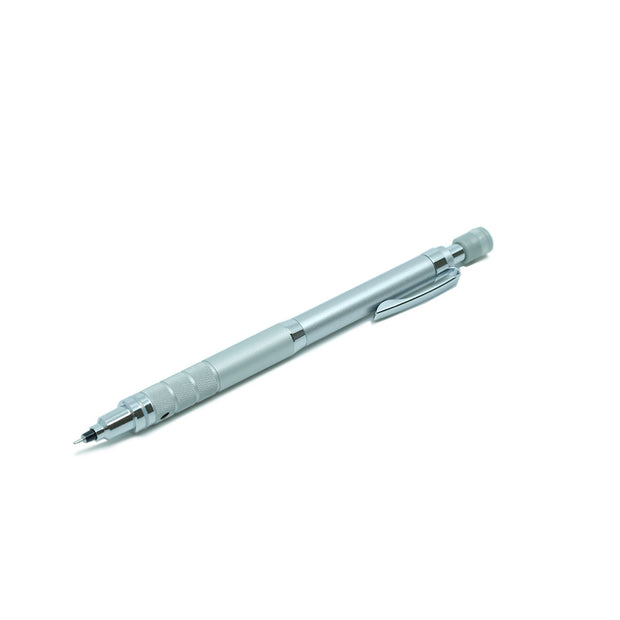 Mitsubishi Uni Kuru Toga Roulette Mechanical Pencil Silver - 0.5 mm - noteworthy