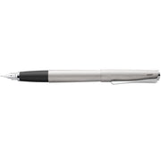 LAMY Studio Fountain Pen, Brushed Steel - M (Medium)