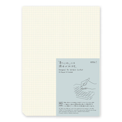MD Paper Pad, A4 - Grid | Japanese Stationery in Vancouver, Canada