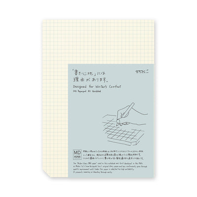MD Paper Pad A5 - Grid | Noteworthy Stationery in Vancouver, Canada