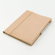 Midori Cover for MD Notebook A4 Variant in Goat leather