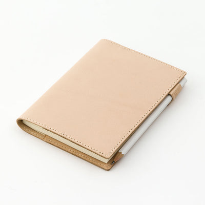 Midori Cover for MD Notebook A6 in goat leather