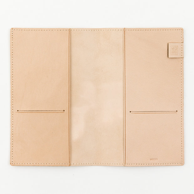 Midori Cover for MD Notebook B6 Slim in goat leather