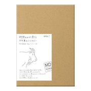 Midori Leather Cover for MD Notebook A5