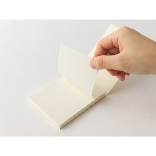 Midori MD Sticky Lined Memo Pad, A7 - noteworthy
