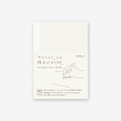 Midori MD Cotton Notebook A6 -Blank- - noteworthy