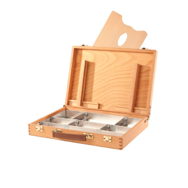 Oiled Beech Wood Sketch Box and Palette #2 - noteworthy