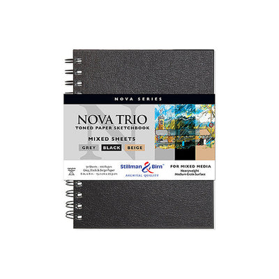 Stillman & Bin Nova Series Trio Mix (7in.x 10in.) - noteworthy