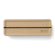 Midori Pulp Pencil Case, Beige - noteworthy