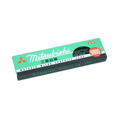 Mitsubishi 9800 Pencil, Set of 12 -2H - noteworthy