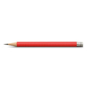 Graf von Faber-Castell Spare pencils for Perfect Pencil, Indian red - Set of 3