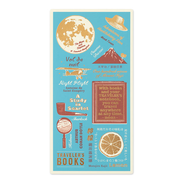 Traveler's Notebooks Plastic Sheet 2021 for Regular Size
