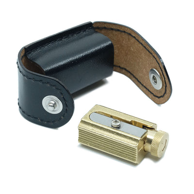 Dux Adjustable Brass Pencil Sharpener - noteworthy