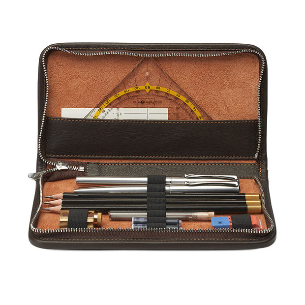 Sonnenleder Nietzsche Leather Pencil Case for 8 pens or pencils - noteworthy