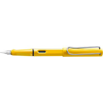 LAMY Safari Fountain Pen, Yellow - F (Fine)