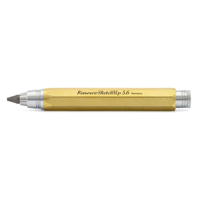 Kaweco Sketch Up Pencil 5.6mm, Brass - noteworthy