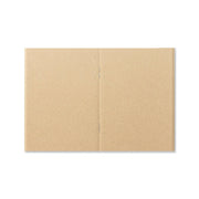 Traveler´s Notebook Refill 009 (Kraft Paper) for Passport Size - noteworthy