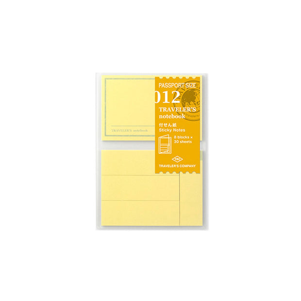Traveler´s Notebook Refill 012 (Sticky Notes) for Passport Size - noteworthy