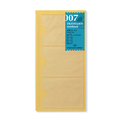 Traveler´s Notebook Refill 007 (Business Card File) for Regular Size - noteworthy
