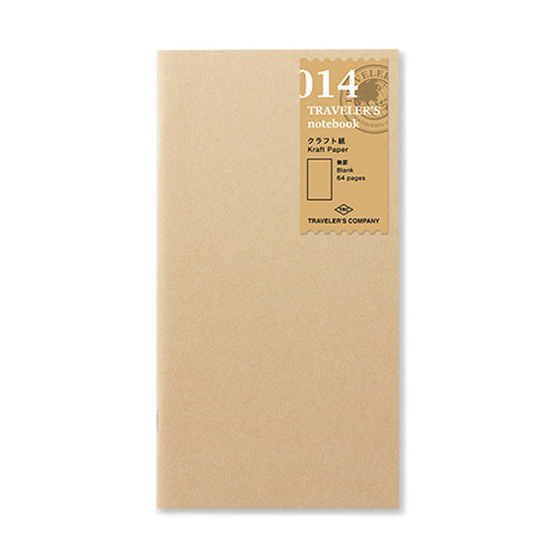 Traveler´s Notebook Refill 014 (Kraft Paper) for Regular Size - noteworthy
