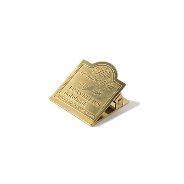 Traveler´s Notebook 030 Brass Clip - noteworthy