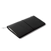 Traveler´s Notebook Starter Kit Regular Size, Black - noteworthy