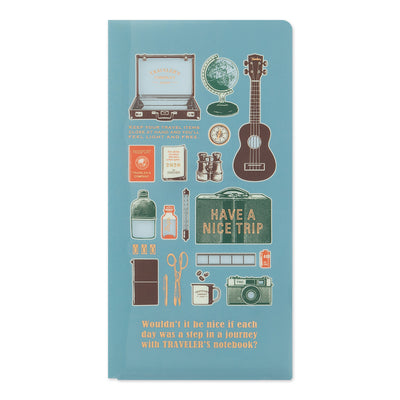 Traveler's Notebook Clear Folder 2020 for Regular Size
