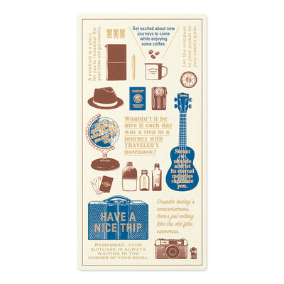 Traveler's Notebooks Plastic Sheet 2020 for Regular Size