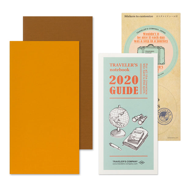 Traveler's Notebook Refill 2020 Weekly Vertical Diary for Regular Size - noteworthy