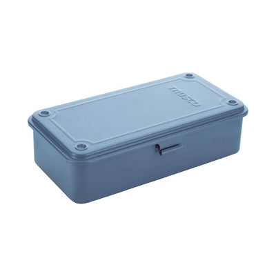 Trusco Stainless Steel Tool Box, Blue - noteworthy