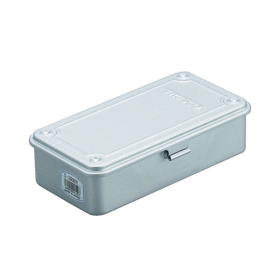 Trusco Stainless Steel Tool Box, Light Grey - noteworthy