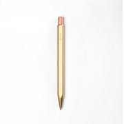 ystudio Classic Mechanical Pencil in Brass - 0.7mm - noteworthy