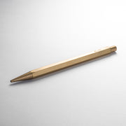 ystudio Classic Sketching Pencil, Lead Holder, Brass  - 2.0 mm - noteworthy