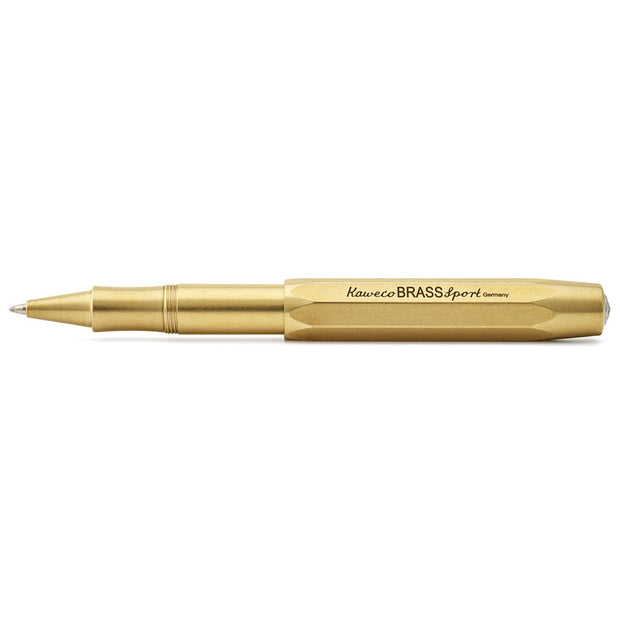 Kaweco Sport Gel Roller Pen Brass - noteworthy