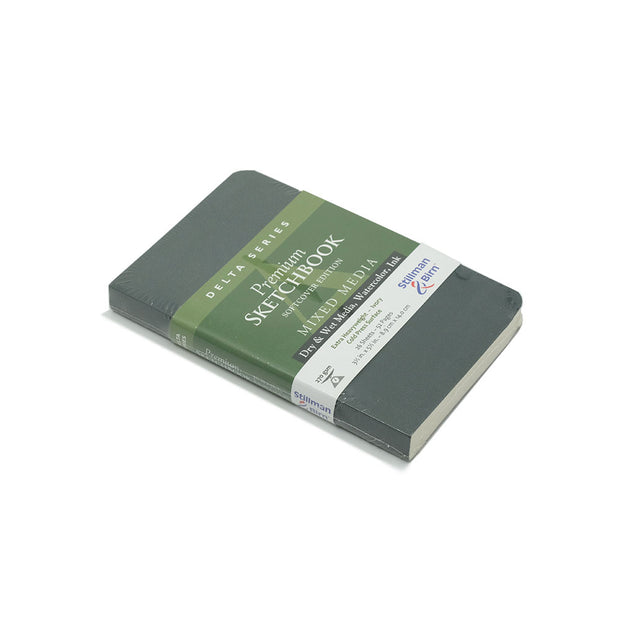 Stillman & Birn, Delta Series Sketchbook, Softcover (2.5in x5.5in) - noteworthy