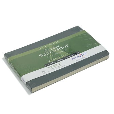 Stillman & Birn, Delta Series Sketchbook, Softcover (8.5in x5.5in) - Ivory - noteworthy