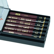 Mitsubishi Hi-Uni Graphite Pencil 5B, Set of 12 - noteworthy